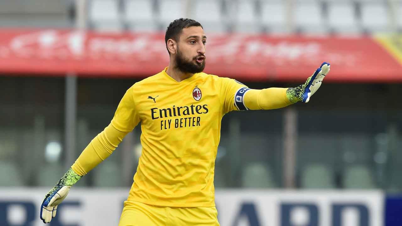 Juventus-Milan Donnarumma
