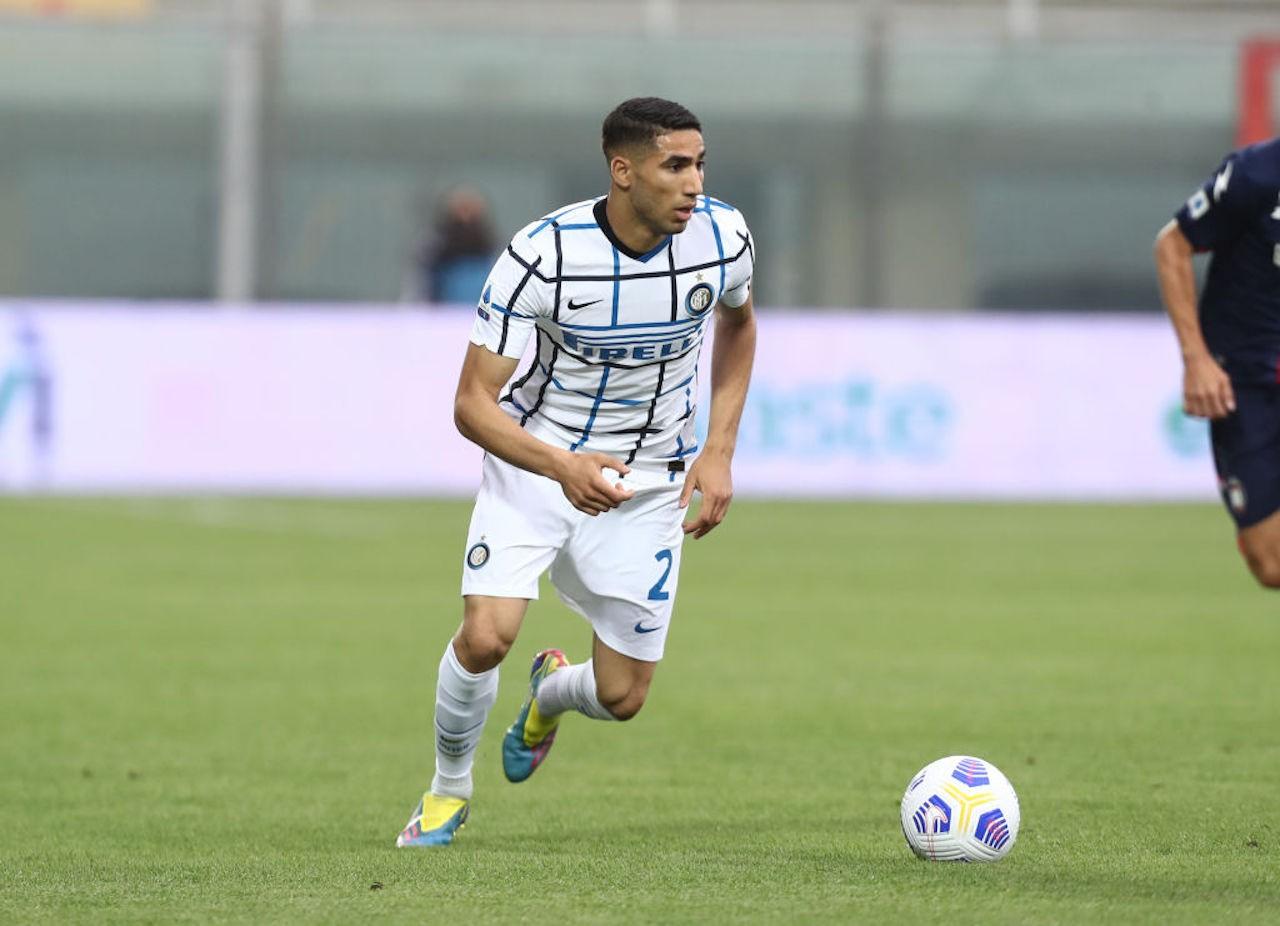 Achraf Hakimi Inter Conte