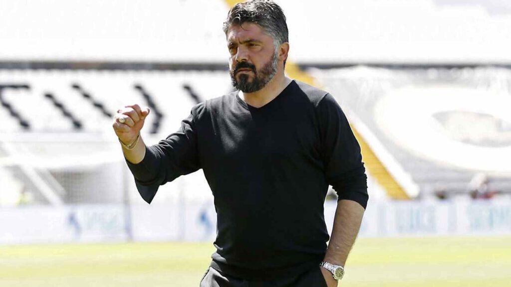 Calciomercato Napoli Juventus Gattuso