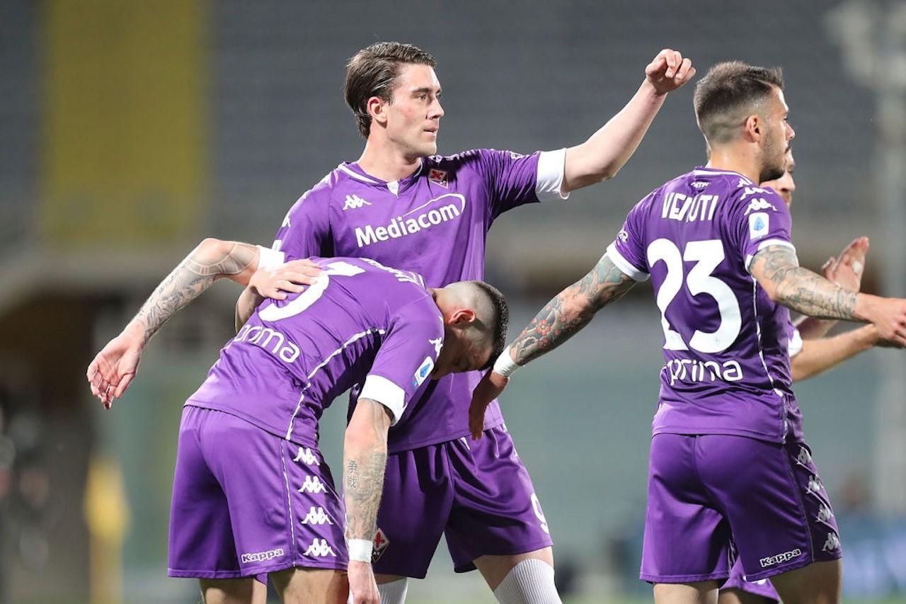 Fiorentina lazio vlahovic