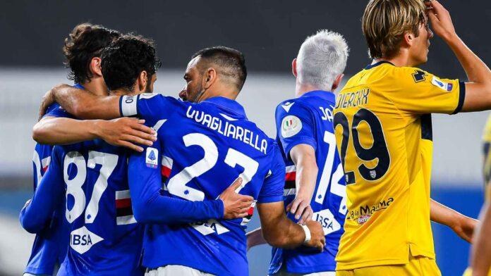 Serie A Sampdoria-Parma
