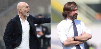 Juventus-Milan Pirlo Pioli