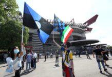 Inter, la Sampdoria 'celebra' lo scudetto nerazzurro   Il gesto