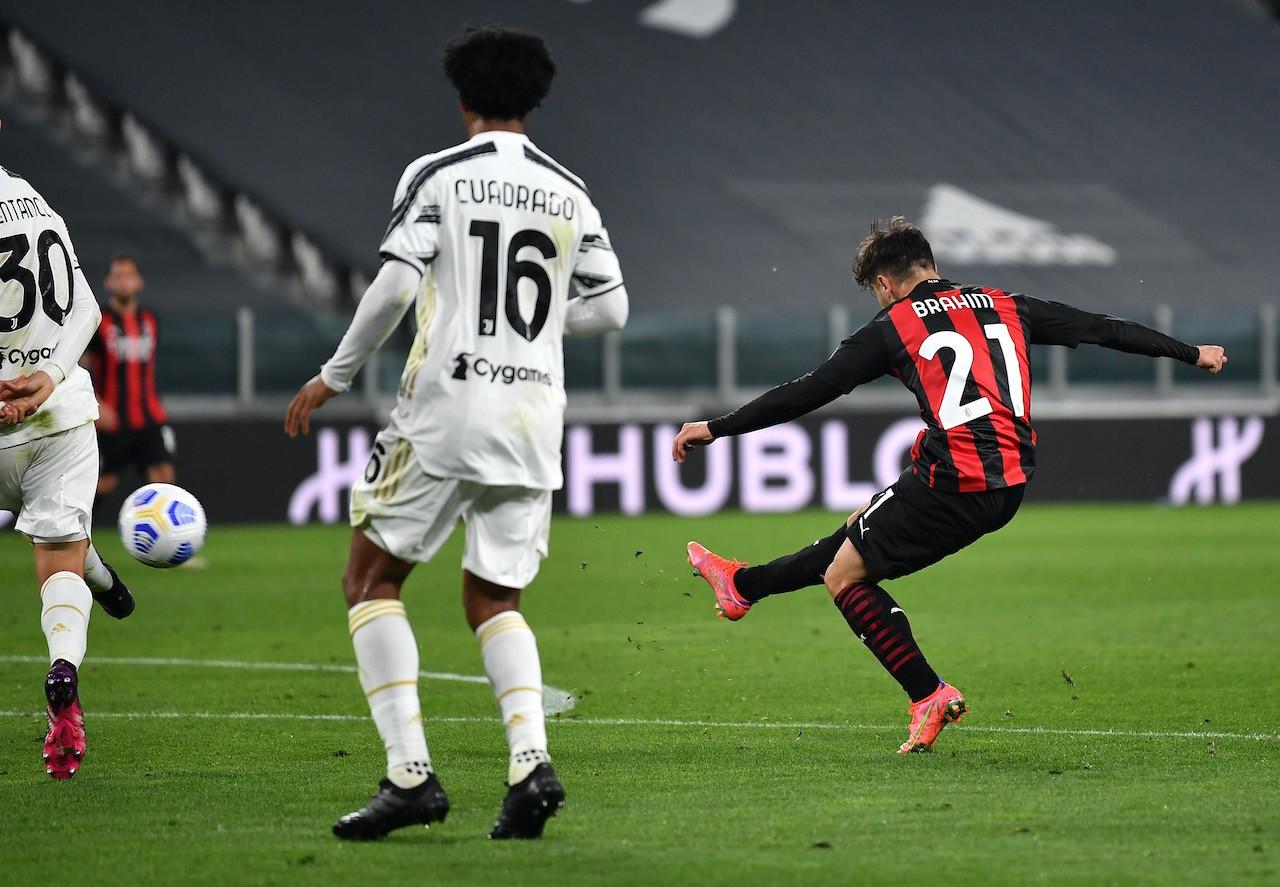 Juventus Milan Brahim Diaz