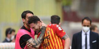 Benevento, infortunio per Ionita