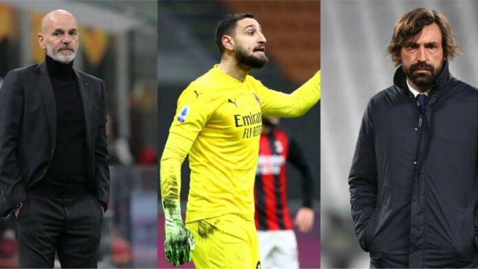Juventus-Milan, quante incertezze: da Donnarumma a Pirlo e Ronaldo