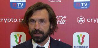 "Atalanta-Juventus, Pirlo: ""Mi riconfermerei, voglio continuare"""
