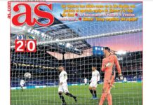 AS, la prima pagina di oggi 6 maggio 2021