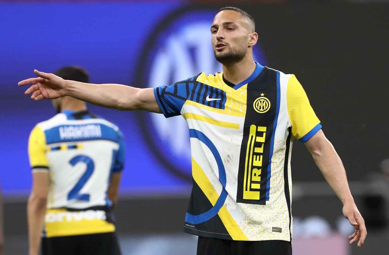 Inter Napoli Fiorentina Roma D'Ambrosio Spalletti