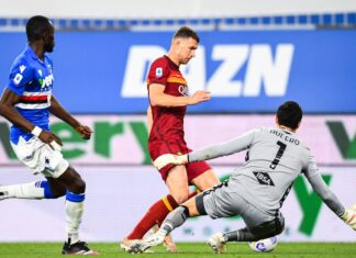 Serie A, Sampdoria-Roma 2-0: Fonseca rischia anche il settimo posto