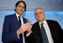 """Lazio, incontro Lotito-Tare-Simone Inzaghi: """"Firma rinnovo in 24 ore"""""""