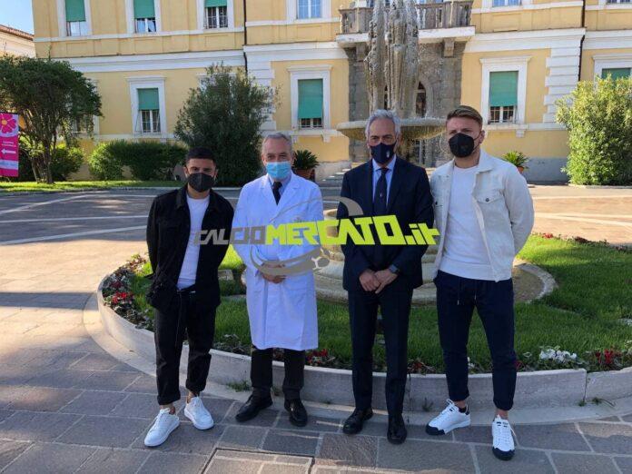 Italia, da Immobile a Insigne: al via i vaccini allo Spallanzani
