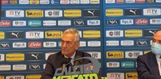 """FIGC, Gravina: """"Non è un problema spostare le mensilità"""""""