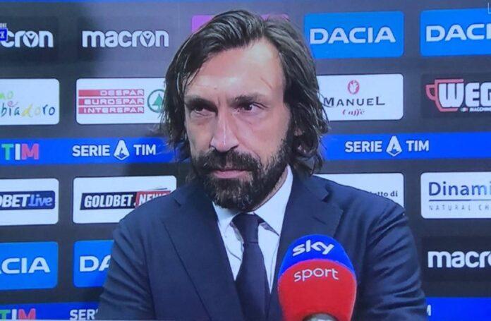Udinese-Juventus, Pirlo: