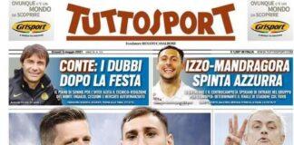 TuttoSport, la prima pagina del 6 maggio 2021