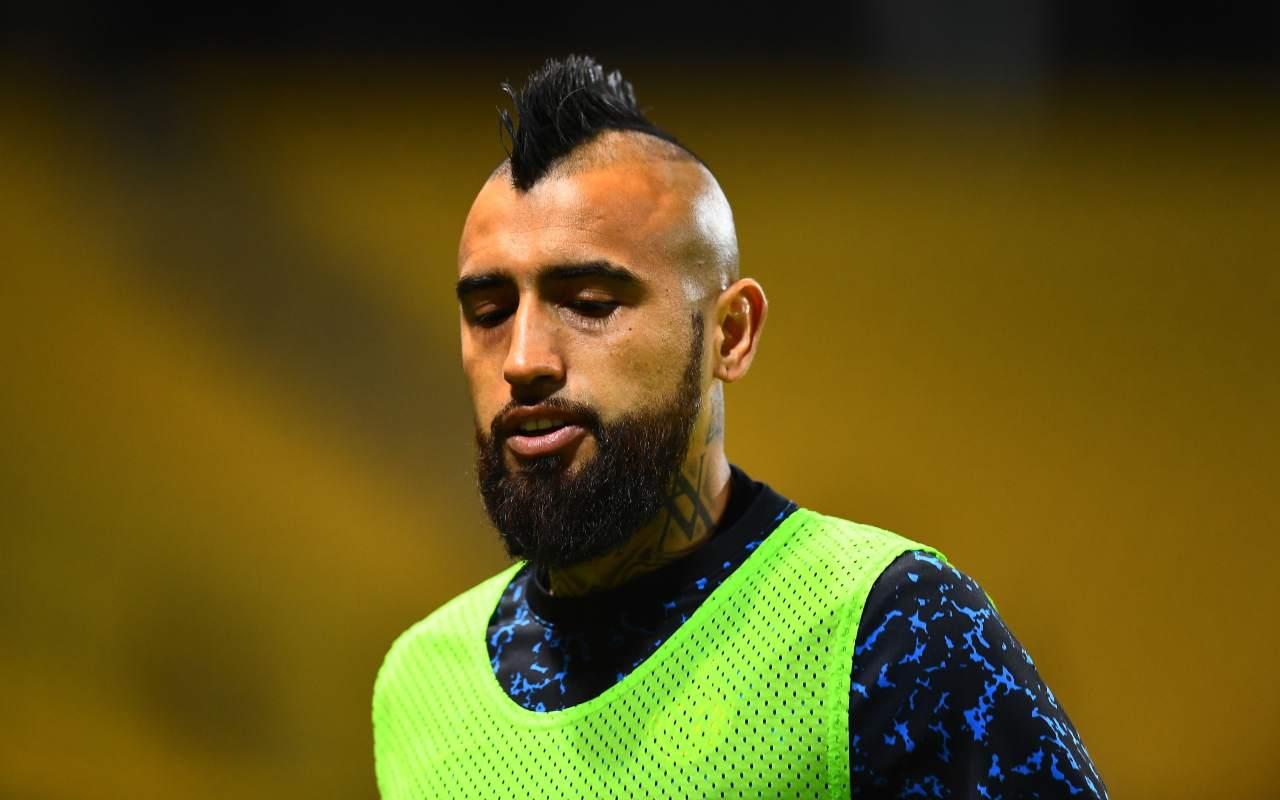Inter, Vidal positivo al Covid-19 | Ricoverato in Cile