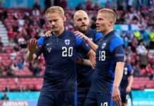 Danimarca Finlandia Euro 2020 Eriksen Pohjanpalo
