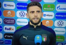 """Italia-Svizzera, Berardi: """"Che partita Locatelli. Davanti siamo fortissimi"""""""