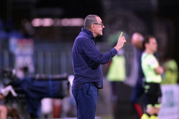 Maurizio Sarri Lazio firma