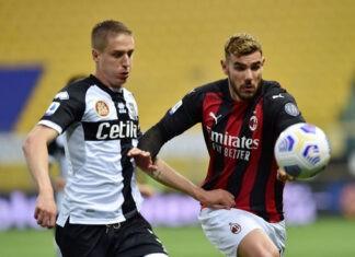 Andrea Conti Milan Parma