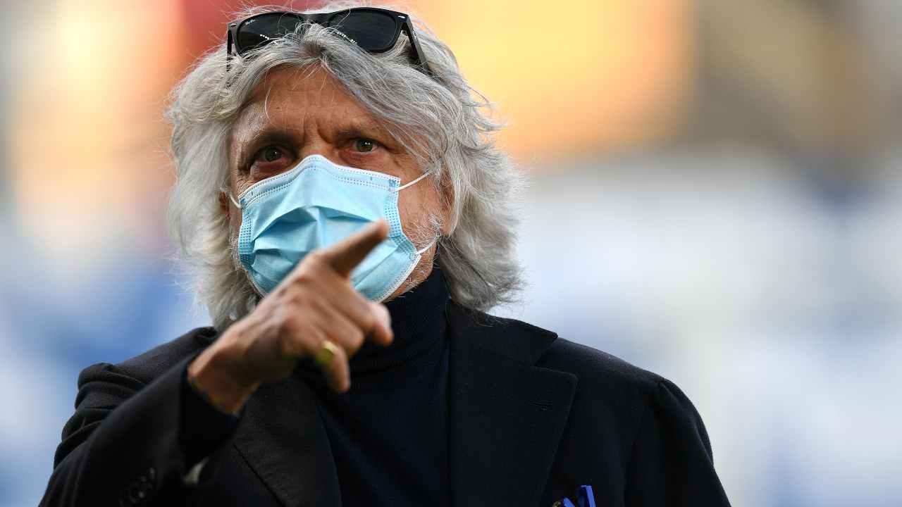 """Diritti tv, Ferrero duro con DAZN   """"La Serie A non è un discount!"""""""