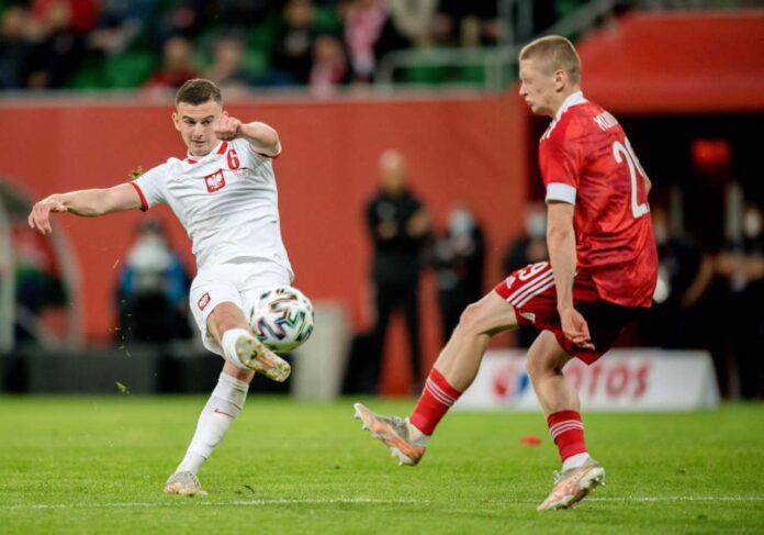 Kozlowski in campo con la Polonia