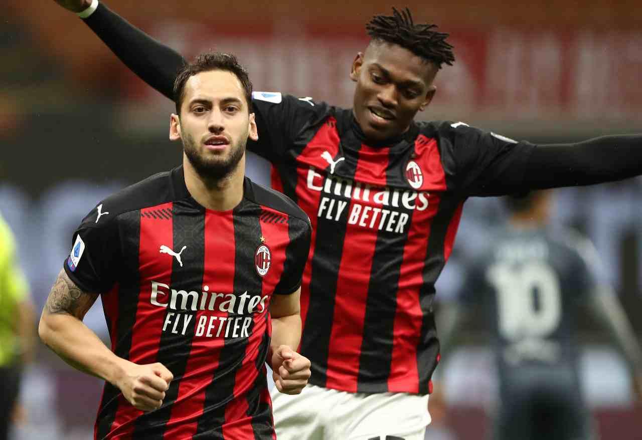 Calciomercato Milan, Maldini tra Rafael Leao e Calhanoglu
