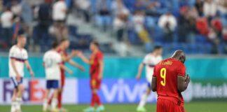 Belgio Russia Lukaku Eriksen Euro 2020