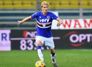 Thorsby Sampdoria porta palla