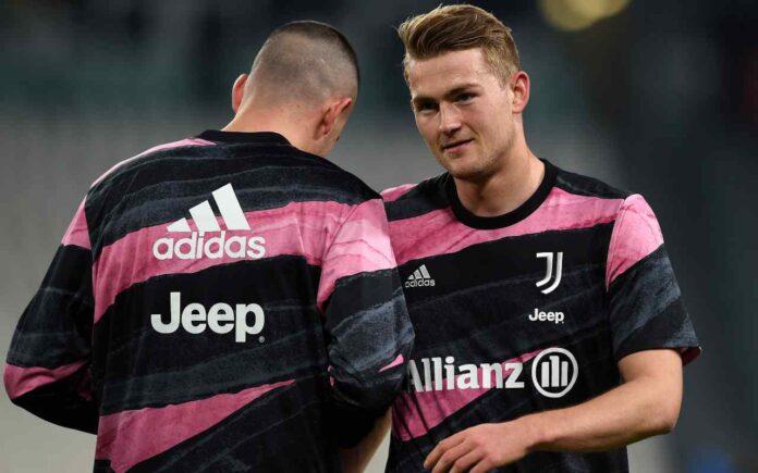 Juventus, allarme de Ligt   Problema all'inguine: Olanda in ansia