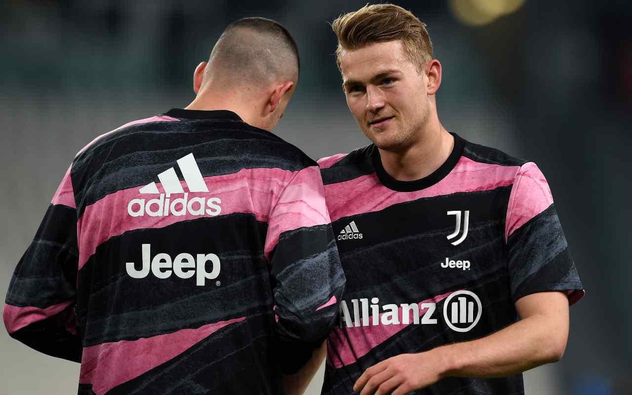 Juventus, allarme de Ligt | Problema all'inguine: Olanda in ansia