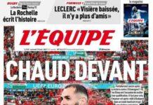 L'Equipe, Chaud Devant
