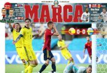 Marca, la prima pagina di oggi 15 giugno 2021