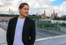 Francesco Totti a Mosca