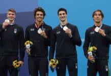 Olimpiadi, esulta l'Italia | Bronzo per Martinenghi e argento nella 4x100 stile