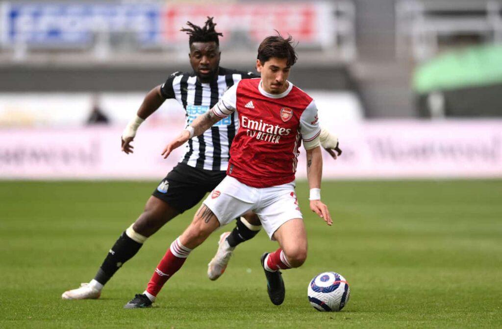 Hector Bellerin Inter arsenal incontro