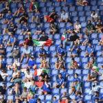 Tifosi allo stadio Serie A