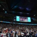 Wembley con i tifosi