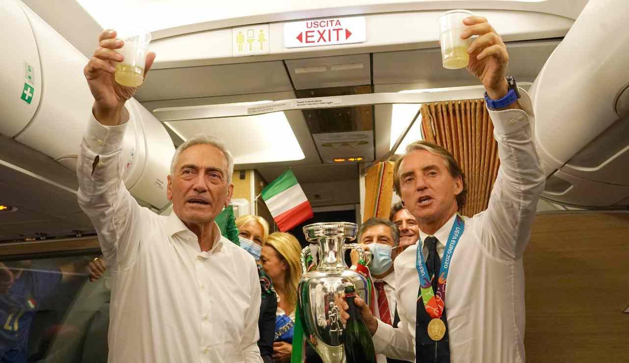 Mancini e Gravina