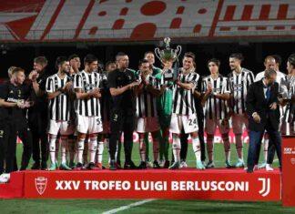 Monza Juventus Trofeo Berlusconi