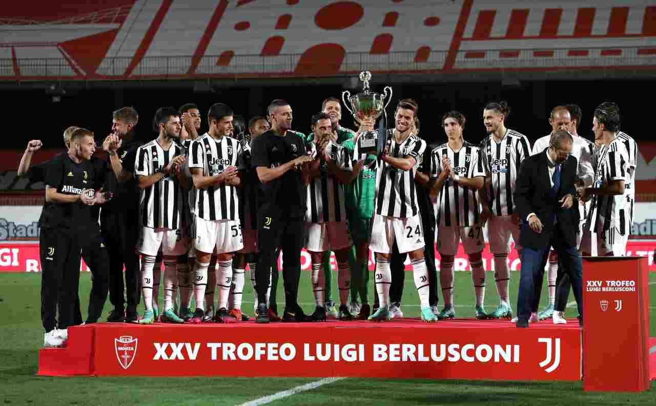 Trofeo Berlusconi, Monza-Juventus 1-2 | Decidono Ranocchia e Kulusevski