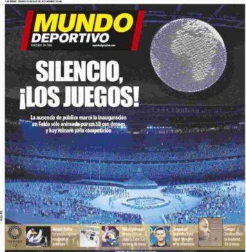 Mundo Deportivo, prima pagina sabato 24 luglio 2021