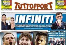 Tuttosport, Tris Juve