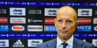 Allegri dopo Juventus-Empoli