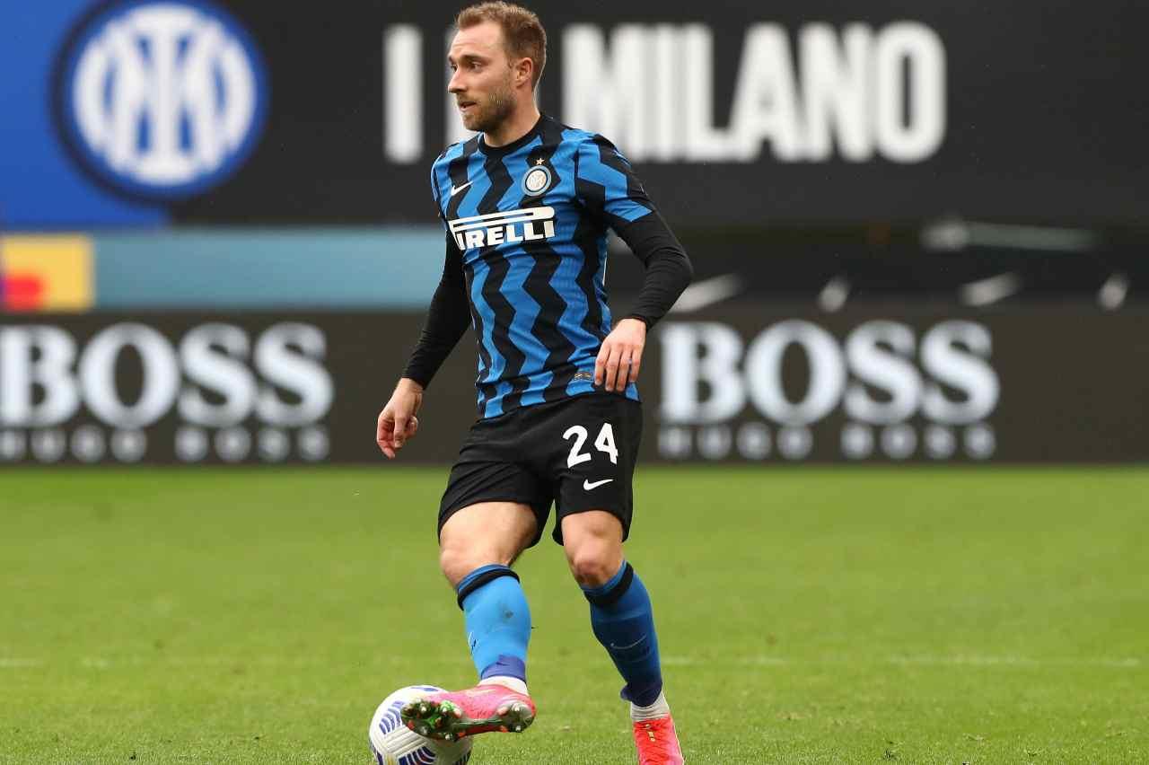Inter, comunicato UFFICIALE: Eriksen ad Appiano. Gli aggiornamenti