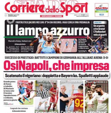 Corriere dello Sport, OsiNapoli che Impresa