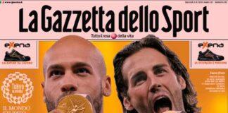 La Gazzetta dello Sport, la prima pagina di oggi 3 agosto