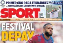 Sport, Festival Depay