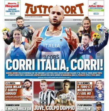 Tuttosport, Corri Italia Corri