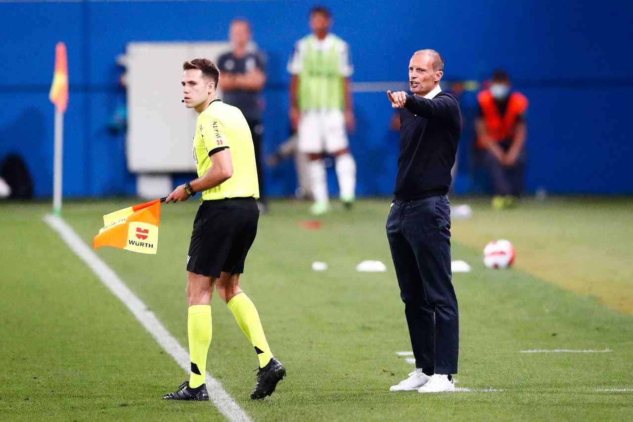 Juventus, Allegri e il colpo Mendy